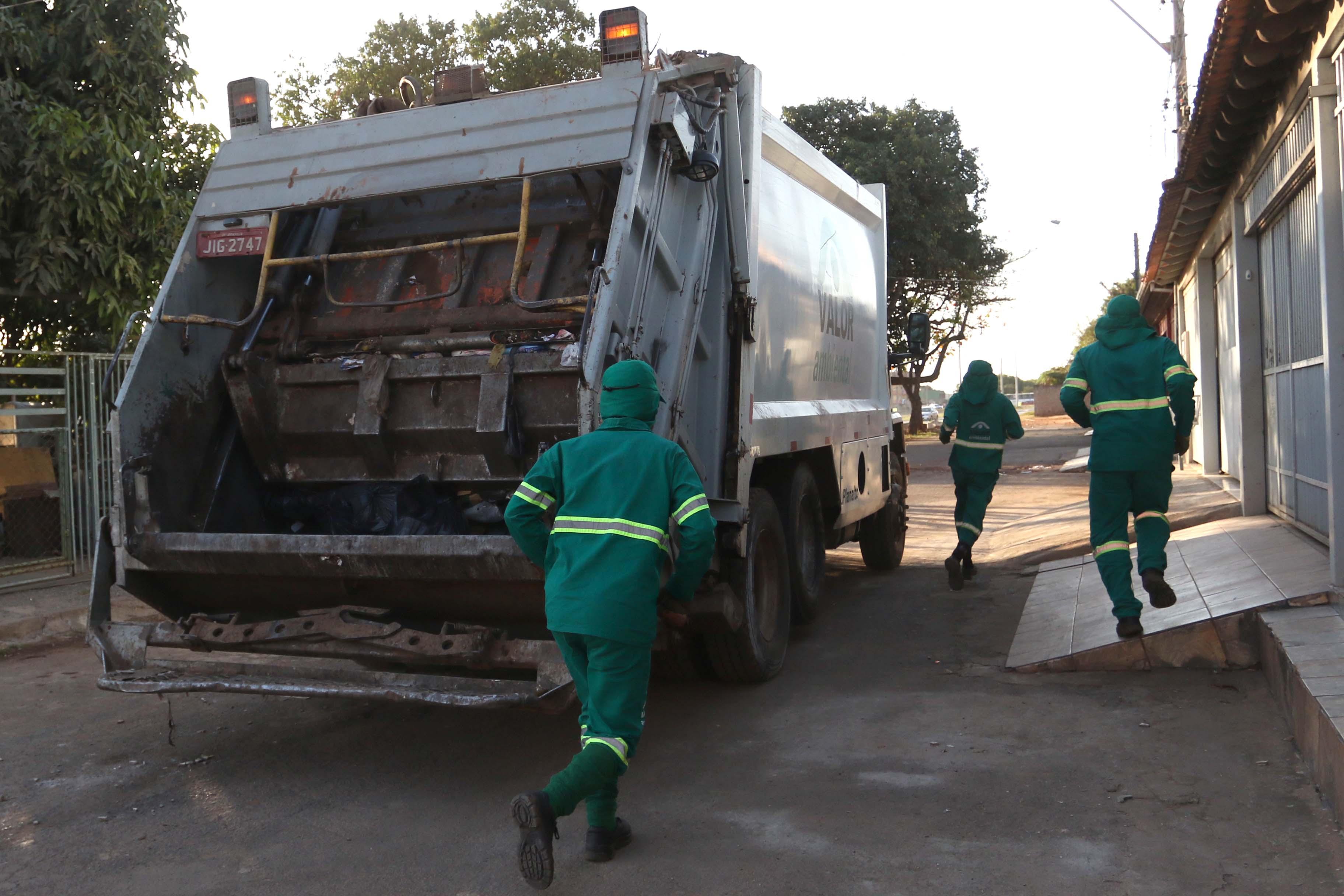 coleta de lixo em SP