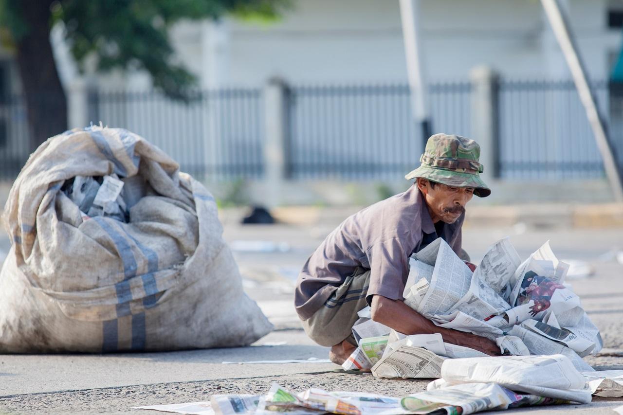 Qual a importância do catador de lixo para a coleta seletiva?
