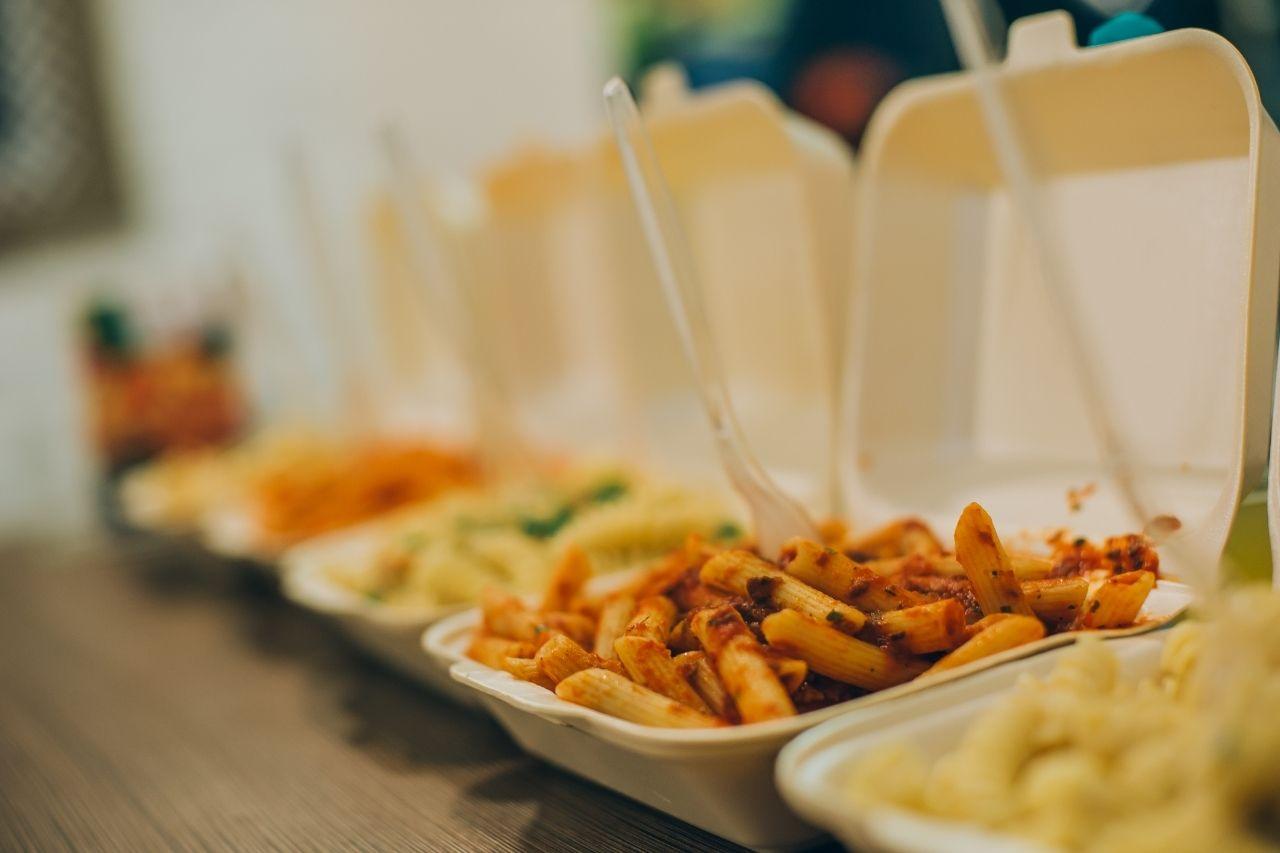 reduzir o uso de descartáveis no setor alimentício